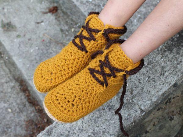 LumberJack Kids - Children slipper pattern
