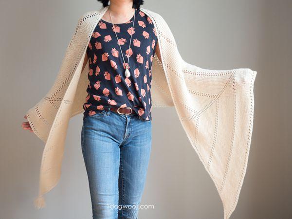 crochet Berkshire Wrap free pattern