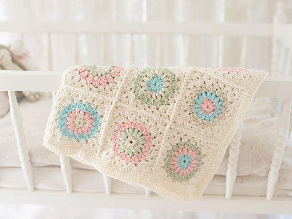 crochet Duchess Blanket Crochet Pattern Baby Blanket