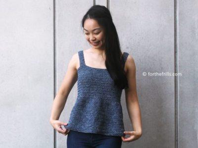 crochet Emilia Tank free pattern