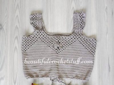 crochet Forever 21 Style Top free pattern