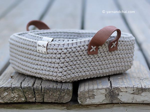 Herringbone Basket Set
