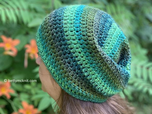crochet Invisible Woman Hat free pattern