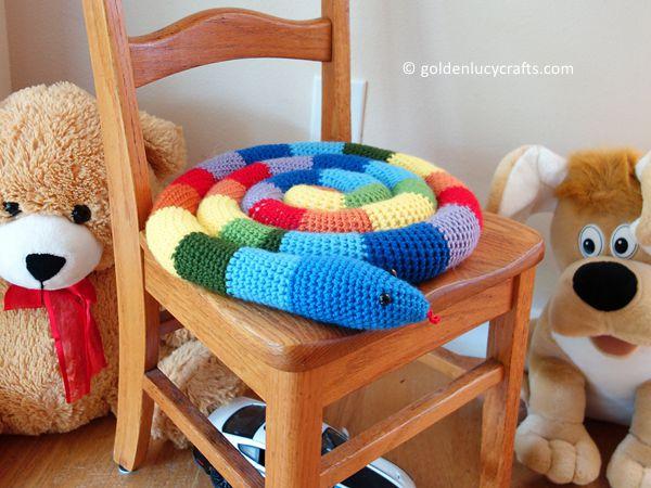 Kid's Snake Seat Cushion