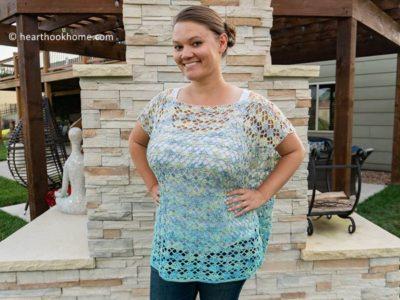 crochet Shell Yeah! Tunic free pattern