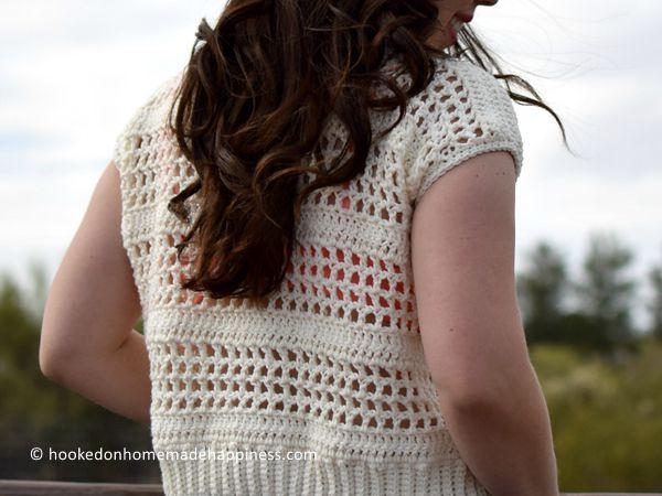 crochet Simple Summer Tee free pattern