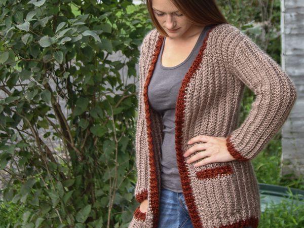 crochet Sophia Cardigan free pattern