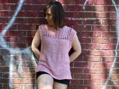 crochet The Options Top free pattern