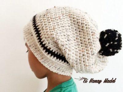 CROCHET A Slouchy Hat FREE PATTERN