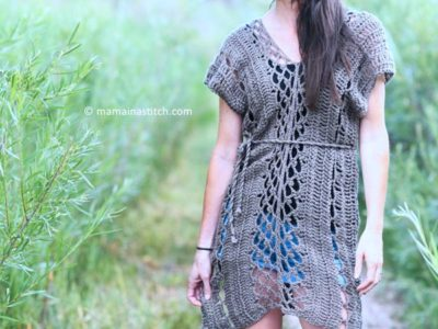 CROCHET Madrid Tunic Dress FREE PATTERN