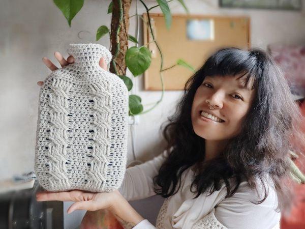 CROCHET Water Bottle Cover free Pattern