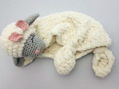 Crochet Lovey Blanket Pattern
