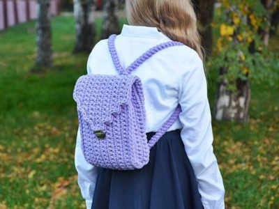 Crochet Mini-Backpack Bag Pattern