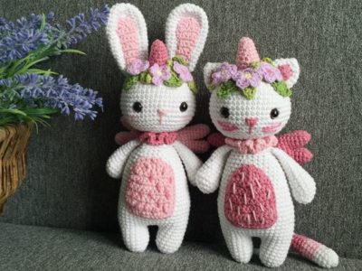 Crochet My little Caticorn free pattern