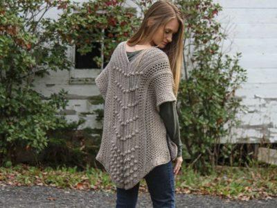 Crochet Reverie Ruana Cardigan