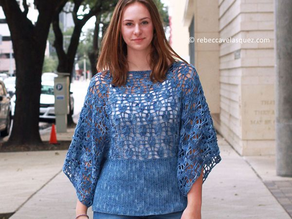 crochet Ahsoka Top free pattern