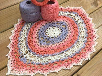 crochet Andromeda Doily free pattern