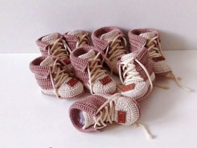 crochet Baby First Shoes free pattern