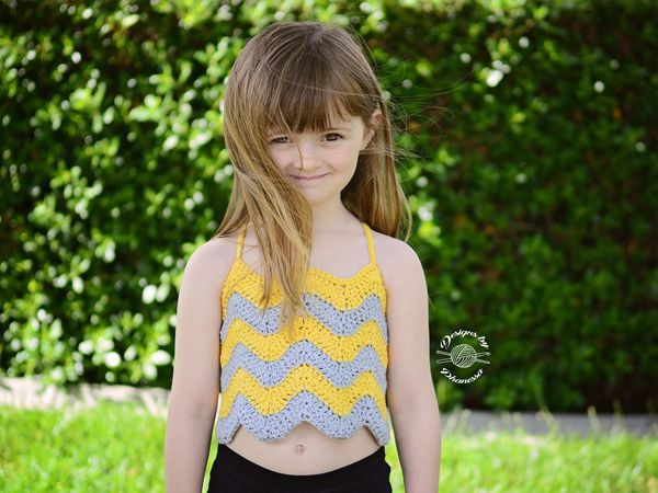 crochet Evie Tank Top Free Pattern