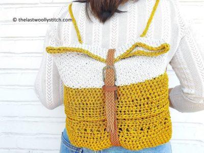 crochet Globetrotter Backpack free pattern