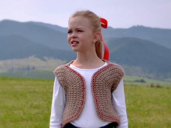 crochet Historical Vest free pattern