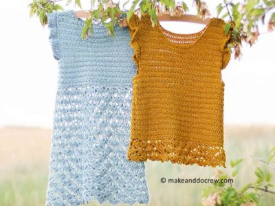 crochet Idlewild Dress free pattern