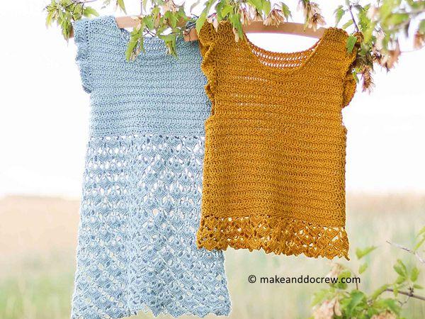 crochet Idlewild Dress free pattern