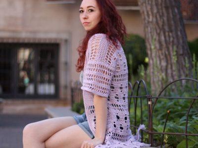 crochet Pereskia Cardigan free pattern