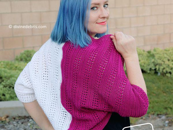 crochet Sherbet Shrug free pattern