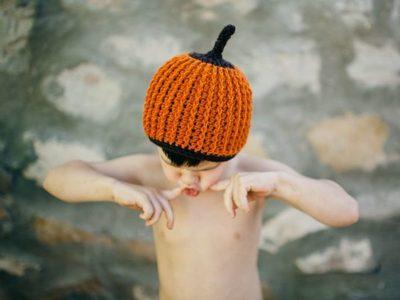 crochet Squash Beanie free pattern