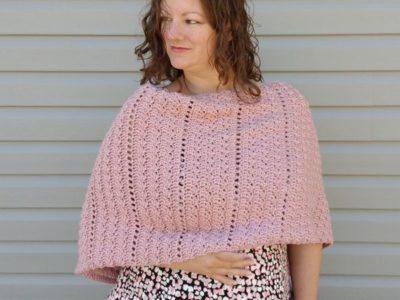 crochet The Alluvium Poncho free pattern