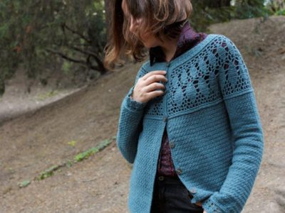 Metropolis Crochet Cardigan easy pattern