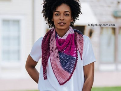 crochet Carillon Shawl free pattern