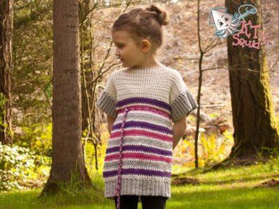 crochet Girls Summer Top free pattern