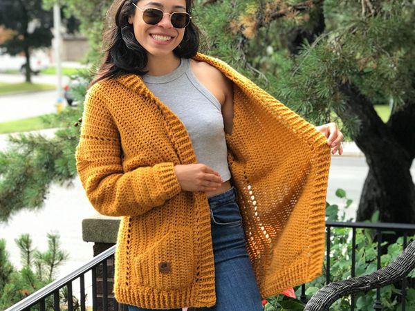 crochet Lorelei Cardigan free pattern