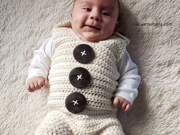 crochet Sweet Dream Romper free pattern
