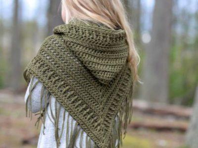 crochet The Brocade Shawl free pattern