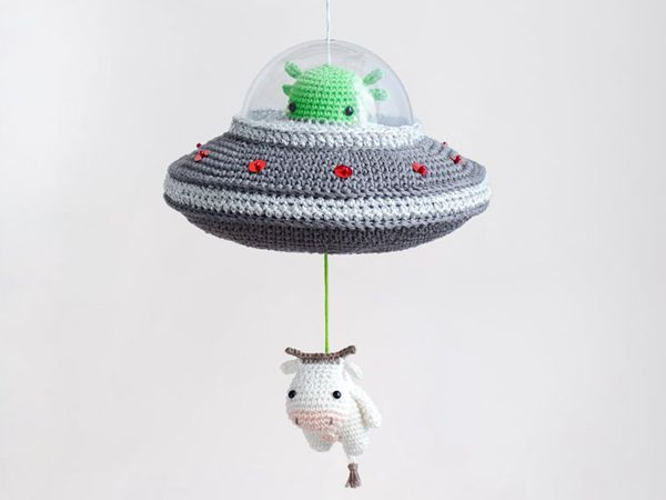 Crochet Flying Saucer Pattern