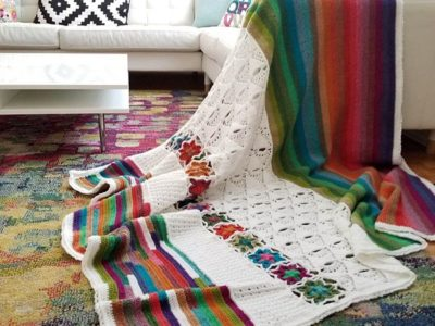 crochet 5th Dimension Blanket easy pattern