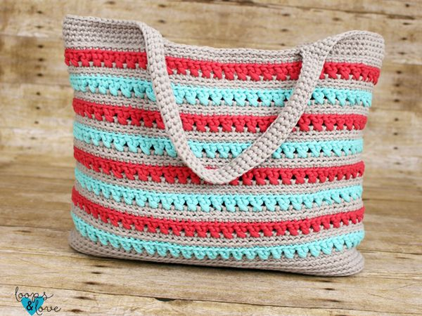 crochet Beach Please Summer Tote free pattern