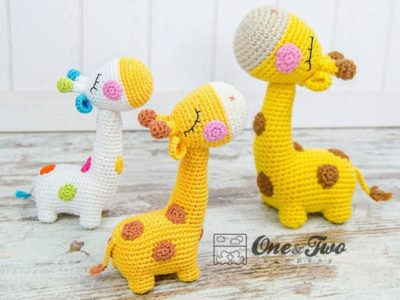 crochet Giraffe Amigurumi easy pattern