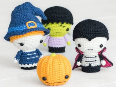 crochet Halloween Minis set free pattern
