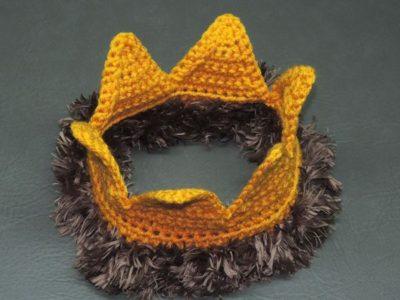 crochet King Crown free pattern
