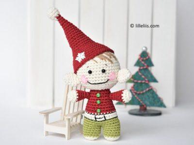 crochet Little Christmas elf free pattern