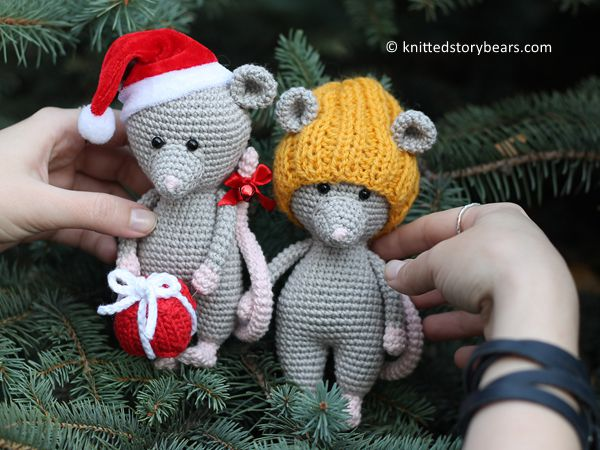 crochet Little Crochet Mouse free pattern