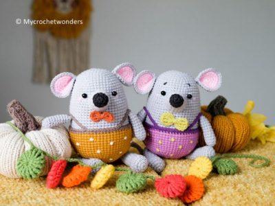 crochet Little mouse Li free pattern