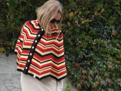 crochet Marigold Poncho easy pattern