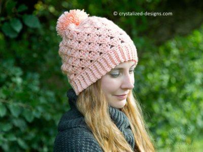 crochet Nancy Beanie free pattern