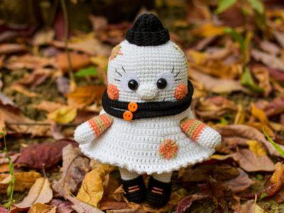 crochet Pretty Little Ghost amigurumi pattern