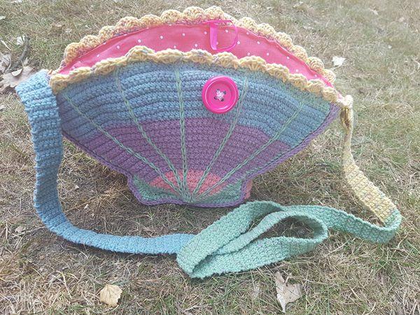 crochet Seashell Bag free pattern